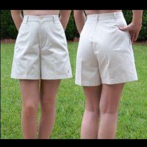 Vintage 90s khaki Ralph Lauren mom shorts